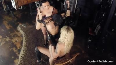 Goddess Cheyenne: Lady Kyra - Fucked Whipped Forced Orgasm