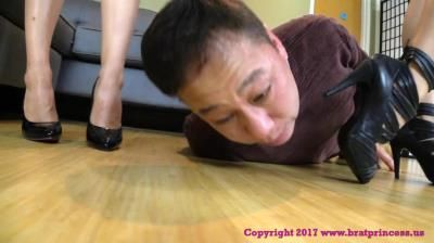 Brat Princess 2: Natalya And Sasha - Submissive Doormat Gets More Feet Than It Can Handle (Complete)