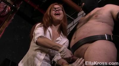 Goddess Ella Kross: Controlling My Slave`S Orgasm By Edging