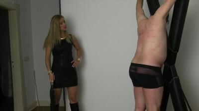 Sado Ladies Femdom Clips: Goddess Countess - Whipped In The Chamber
