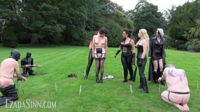 House Of Sinn: Mistress Ezada, Mistress Ava Von Medisin, Mistress Lilse, The Queen Of Wolves - Crushing The Rebels Of The Society Part 1