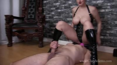 Club Stiletto Femdom: Mistress Irene - Would You Do Anything To Be Under My Ass