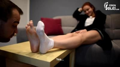 Czech Soles: Megan - Taking Advantage Of Her Boy-Toy