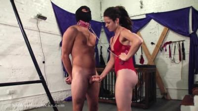 Ball Busting Chicks: Pip - Ruined Orgasm - Jerk The Bruised Hard On