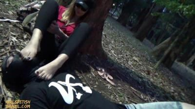 Girls Fetish Brazil: Dirty Feet In The Park And Humiliation In Public By Princess Shirley # Full Version