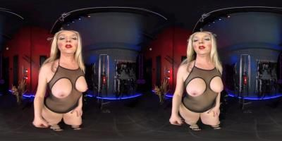 The English Mansion: Mistress Sidonia - Chastity Tease And Release - Vr