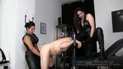 Goddess Alexandra Snow: Mistress Ezada Sinn, Goddess Alexandra Snow - Dirty Slut Double Fuck