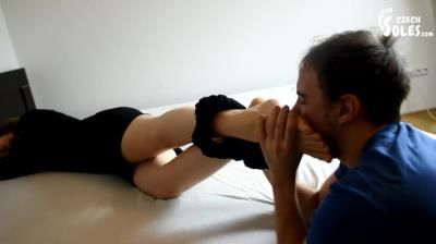 Czech Soles: Foot Pervert Violating Annas Smelly Nylons And Feet