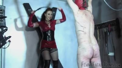 Femmefatalefilms: Mistress Lady Renee - Red Whipping - Part 1