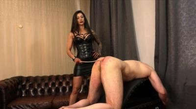 Sado Ladies Femdom Clips: Domina Charlize - 6 Canings In 24 Hours