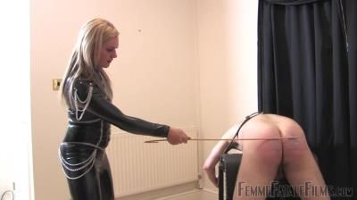 Femme Fatale Films: Mistress Athena - Caned And Smoked - Complete Film
