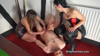 Dirty Dommes: Fetish Liza - Ballbusting Revenge Part 2