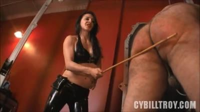Cybill Troy Femdom Anti-Sex League: Caned By Mistress Alicia
