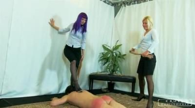 Cruel Punishments: Lady Zita, Lady Suzy - Severe Femdom - Brutal Spanking By Two Mistresses