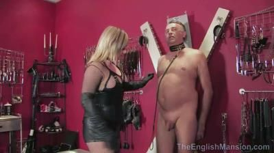 The English Mansion: Lady Nina Birch - Tongue Lashed - Part 1