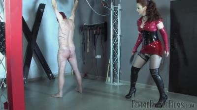 Femme Fatale Films: Mistress Lady Renee - Red Whipping - Complete Film
