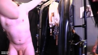 Mistress Karina: Mistress Tess - An Enjoyable Ballbusting