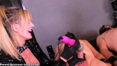 Mistress Tess Uk Clip Store: Mistress Tess, Domina Scarlet - Ruined Race With Domina Scarlet