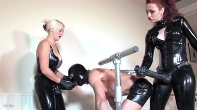 Mistress Lady Renee: Mistress Heather Divine, Lady Renee - Latex Spit Roast