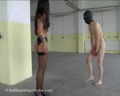 Ball Busting Chicks: Empress Cruel - Your Balls Will Ache Like Hell