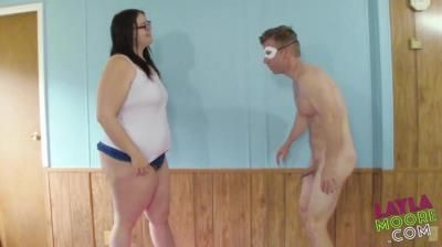 Laylas Kinky Corner: Layla Loves Ball Busting Amazonian Ball Kicking With Layla Moore