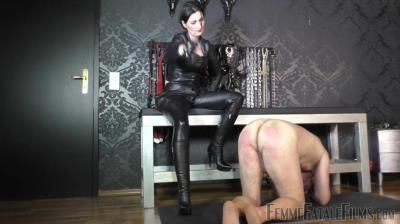 Femme Fatale Films: Lady Victoria Valente - Leather Cropping - Super Hd - Complete Film