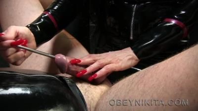 Mistress Nikita Femdom Videos: Obey Nikita - Stretching My Cock Hole