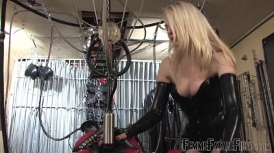 Femme Fatale Films: Mistress Eleise De Lacy - Drained By The Milking Machine - Super Hd - Complete Film