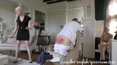 Lady Kenworthys Cp Collection: Miss Kenworthy And Miss Paris Discipline The Panty Thief - Part Three The Final Caning