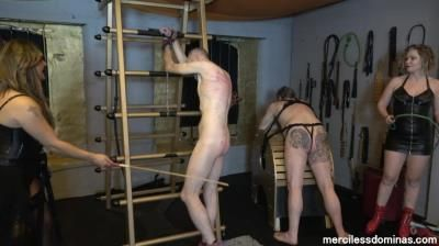 Merciless Dominas: Mistress Inka, Mistress Athena - Who Will Stand The Pain