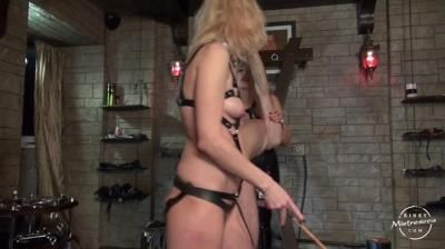 Kinky Mistresses: Mistress Marta - Caned By 2 Ladies
