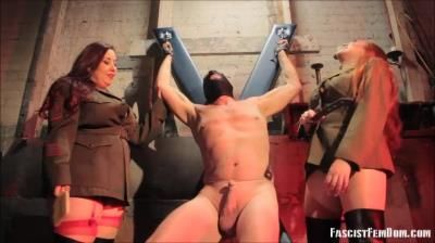 Fascist Femdom: Miss Sheri Darling, Elena De Luca - 2 Mistresses, Too Much Pain