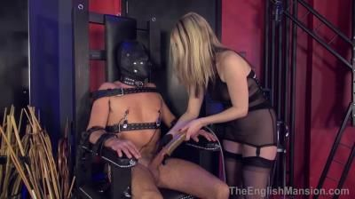 The English Mansion: Mistress Sidonia - Chair Bondage Milking - Complete Film