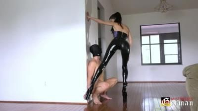 German Mistresses: Mistress Susi - Ass Fetish Session In Latex
