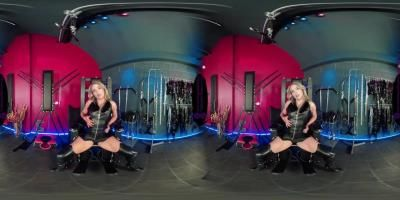 The English Mansion: Mistress Courtney - Leather Goddess - Vr