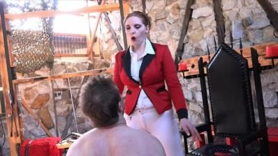 Sado Ladies Femdom Clips: Mistress Cloe - Cruel Slaps From The Ridingmistress