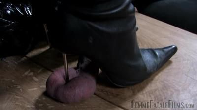 Femme Fatale Films: Lady Natalie Black, Lady Victoria Valente - The Cock And Ball Box - Complete Film