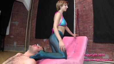 Brat Princess 2: Alexa - Challenges Chair With Full Weight Facesit