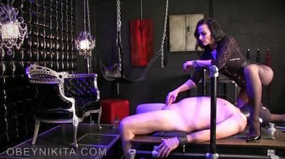 Mistress Nikita Femdom Videos: Obey Nikita - Nail Whore Gets Gagged