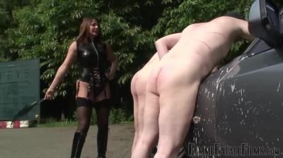 Femme Fatale Films: Mistress Carly - Dirt Lickers - Part 1