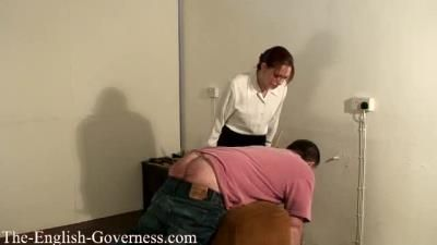 Lady Kenworthys Cp Collection: The Governess Shows You No Mercy With Her Cane