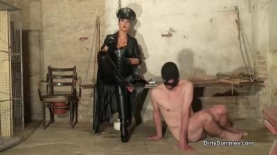 Dirty Dommes: Fetish Liza - Imprisoned Boot And Ashtray Slave