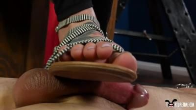 Torture Time: Made To Cum From Rockys Sandals