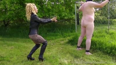 The English Mansion: Miss Suzanna Maxwell - Two-Way Whipping - Part 2