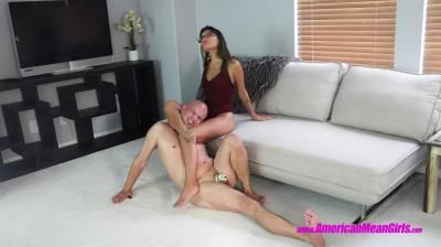 The Mean Girls: Goddess Platinum - Goddess Asia Squeezes Her Horrible Day Away