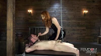 Vicious Femdom Empire: Kendra James - Balls Of Steel