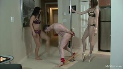 Clips4sale: Bijou Steal, Miss Jasmine - 266 Kicks To The Balls (Dancers Workout) Part 1