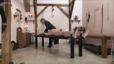 Mistress Courtney: Suffering On The Bench