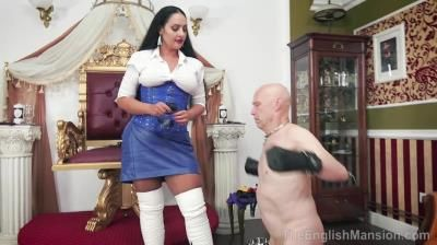 The English Mansion: Mistress Ezada Sinn - Man To Dog - Part 2