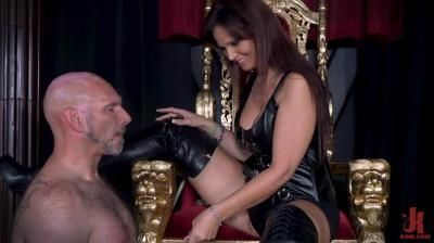 Filthy Femdom: Yes My Queen - Syren De Mer Dominates Her Daddy For The First Time
